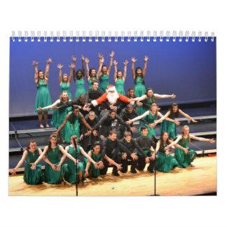 El coro 2014 de la demostración del HS del Calendario De Pared