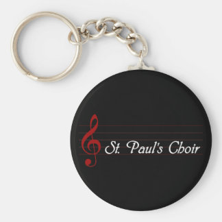 El coro de San Pablo Llavero Redondo Tipo Pin