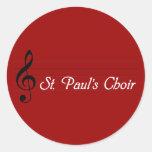 El coro de San Pablo Pegatina Redonda