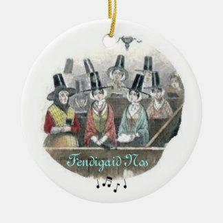 El coro Galés adorna Ornamente De Reyes