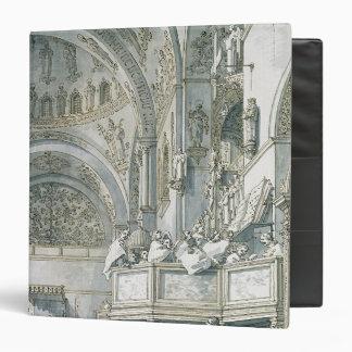 """El coro que canta en la basílica de St Mark, Carpeta 1 1/2"""""""