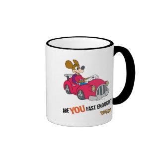 """El corredor de Toontown Kart """"es usted rápidamente Taza De Dos Colores"""