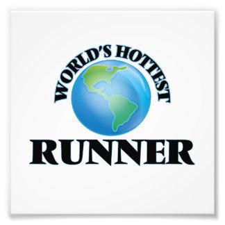 El corredor más caliente del mundo arte fotográfico