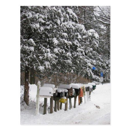 El correo del invierno encajona la postal del día