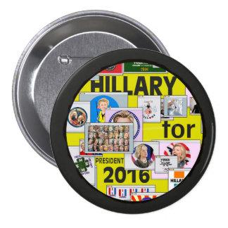 El correo electrónico de Hillary Clinton Pin Redondo De 3 Pulgadas