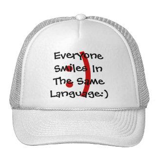 El correo electrónico del Emoticon y el gorra mode