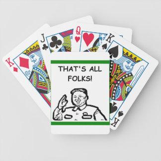 el cortar coreano barajas de cartas