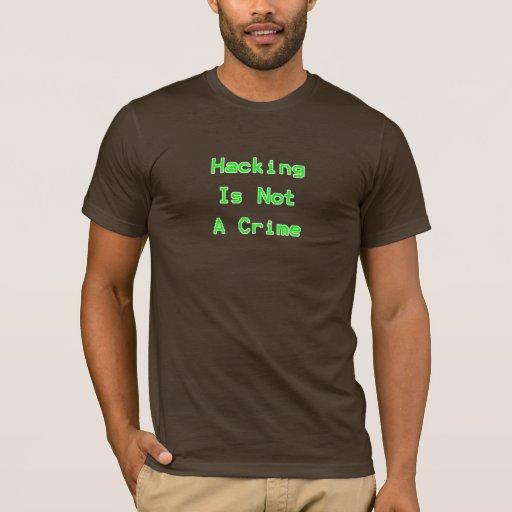 El cortar no es un crimen playera