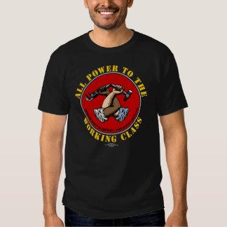 """El corte de las mujeres """"todo el poder…"""" Camiseta Playeras"""