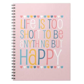 El cortocircuito de la vida sea feliz libretas