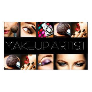El Cosmetologist del artista de maquillaje clava e