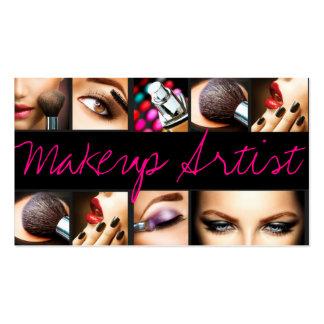 El Cosmetologist del artista de maquillaje clava Tarjetas De Visita