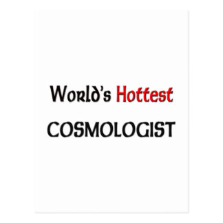 El cosmólogo más caliente de los mundos postal