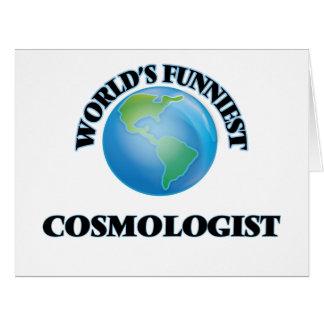 El cosmólogo más divertido del mundo tarjeton