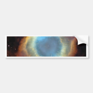 El cosmos del universo protagoniza el espacio pegatina para auto