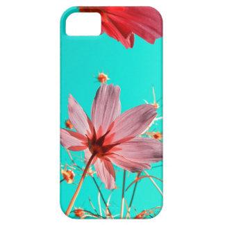 El cosmos florece el extracto II iPhone 5 Case-Mate Cárcasa