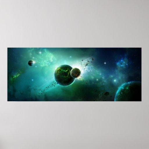 El cosmos poster