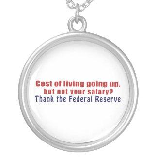 El coste de la vida que sube agradece Federal Colgante Redondo