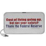 El coste de la vida que sube agradece Federal Rese Mini Altavoces