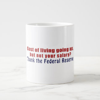 El coste de la vida que sube agradece Federal Rese Taza Grande