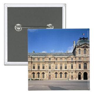El Cour Carree y el pabellón de l'Horloge Pin Cuadrado