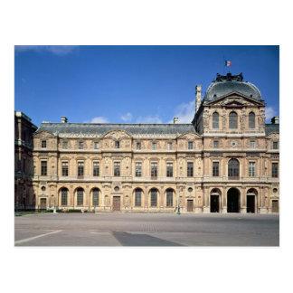 El Cour Carree y el pabellón de l'Horloge Postales