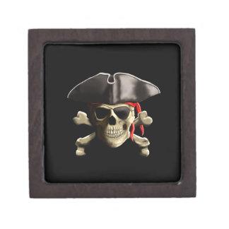 El cráneo alegre del pirata de Rogelio Cajas De Regalo De Calidad