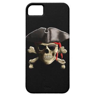 El cráneo alegre del pirata de Rogelio iPhone 5 Fundas