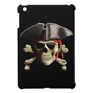 El cráneo alegre del pirata de Rogelio iPad Mini Carcasa