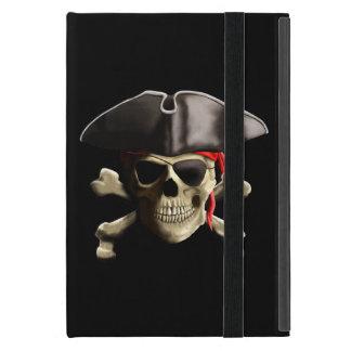 El cráneo alegre del pirata de Rogelio iPad Mini Protectores