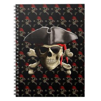 El cráneo alegre del pirata de Rogelio Libretas
