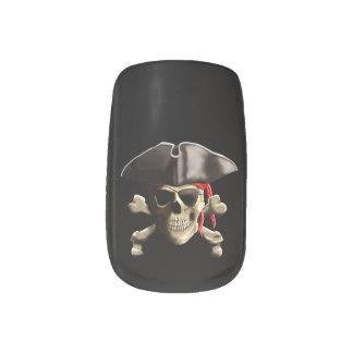 El cráneo alegre del pirata de Rogelio Arte Para Uñas