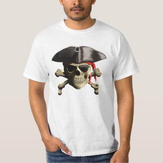 El cráneo alegre del pirata de Rogelio Playera