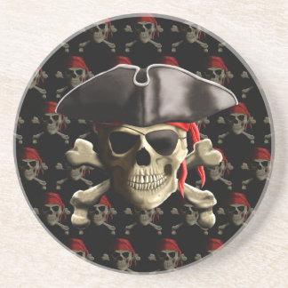 El cráneo alegre del pirata de Rogelio Posavasos Manualidades