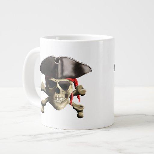 El cráneo alegre del pirata de Rogelio Tazas Jumbo