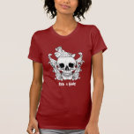 El cráneo camiseta