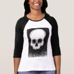 El cráneo camisetas