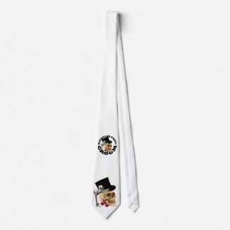 El cráneo de juego gótico prepara el boda del corbatas personalizadas