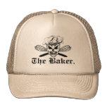 El cráneo del cocinero y bate: El panadero Gorras