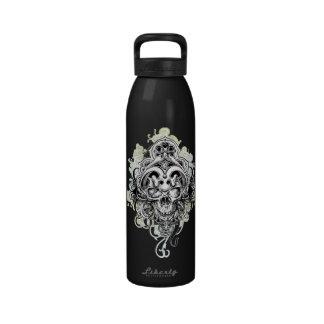 El cráneo diseñó la botella de agua