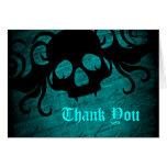 El cráneo gótico de la fantasía le agradece felicitacion