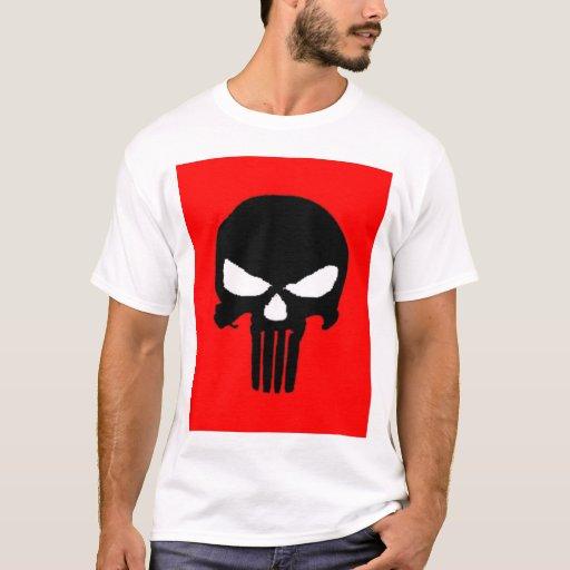 el |: Cráneo negro: camiseta del |