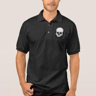 El cráneo camiseta polo