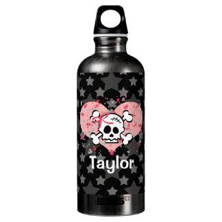 El cráneo rosado BPA del arco libera