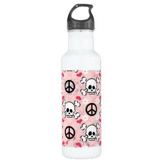 El cráneo rosado BPA libera