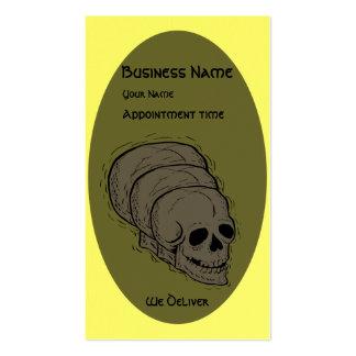El cráneo - tarjetas de visita