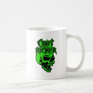 El cráneo verde 2 echó a un lado taza