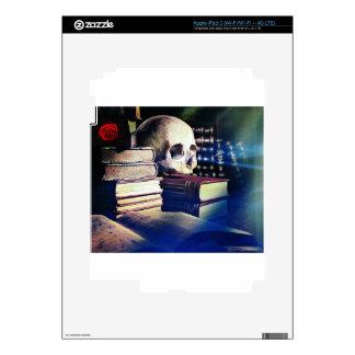 El cráneo y el encanto reservan en los regalos, la iPad 3 pegatina skin