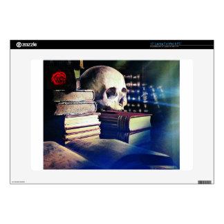 El cráneo y el encanto reservan en los regalos, la skins para 38,1cm portátiles