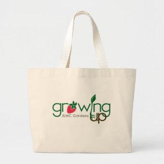 El crecer cultiva un huerto la bolsa de asas